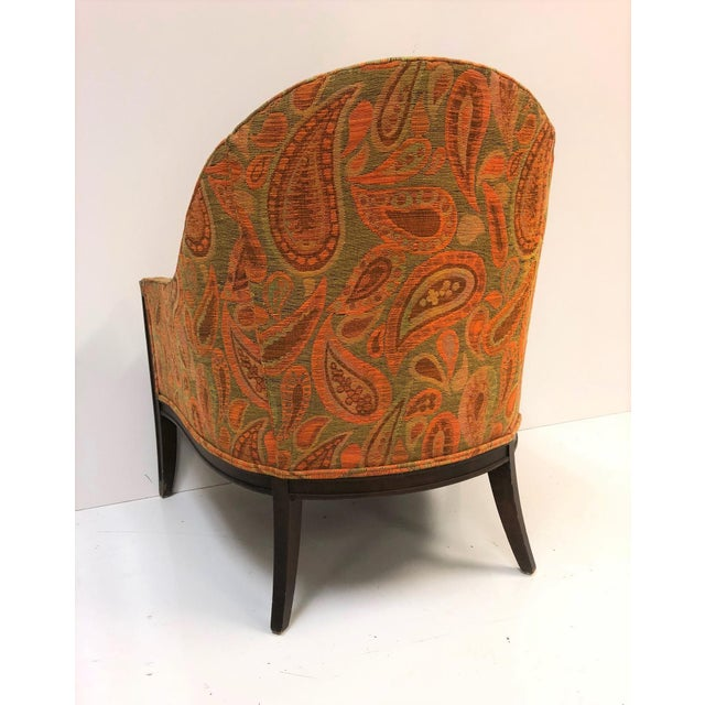 Pair Mid Century Modern Lounge Chairs For Sale - Image 4 of 6