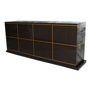 1950s Mid-Century Modern Tommi Parzinger Exquisite Ebony Cabinet