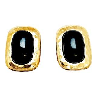Geometric Statement Earrings by Kenneth Jay Lane For Sale