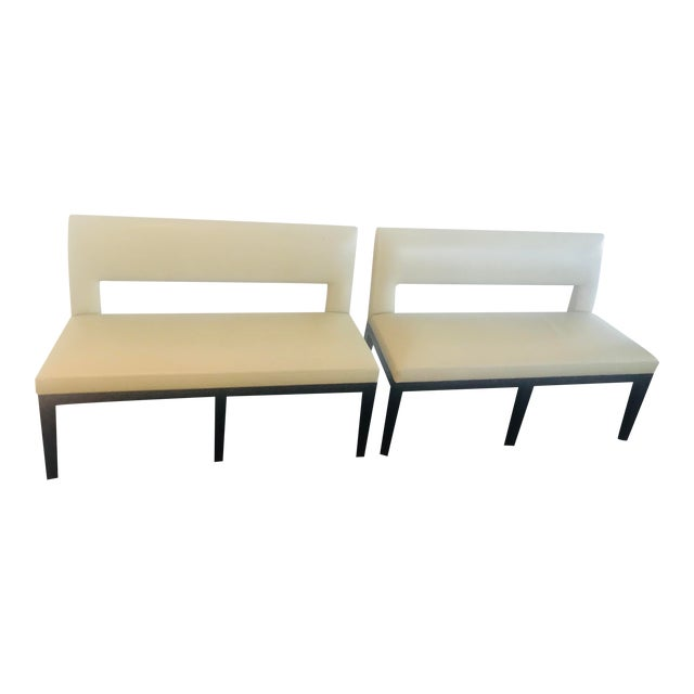 Christian Liaigre for Holly Hunt Dining Bench - A Pair For Sale