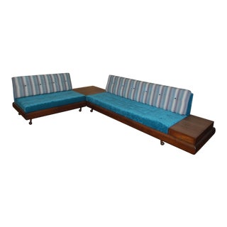1960s Vintage Adrian Persall Sectional Sofa For Sale
