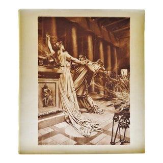 """Norma Act II Scene X"" William De Leftwich Dodge Photogravure For Sale"
