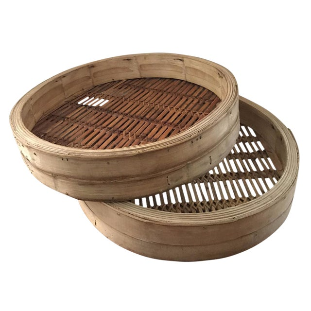 Extra Large Bamboo Steamer Basket (2) - Image 1 of 7