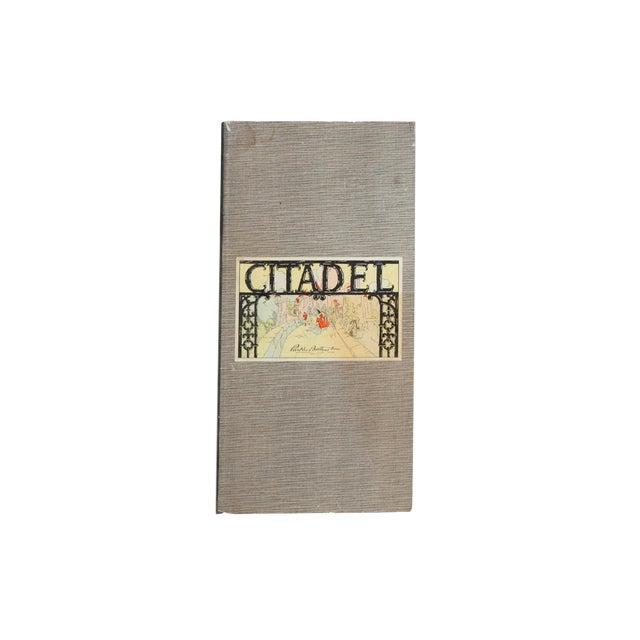 Vintage Parker Brothers Citadel Game Board For Sale