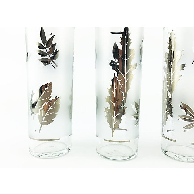Libbey Silver Leaves High Balls - Set of 4 - Image 4 of 4