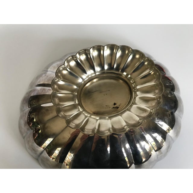 Mid 20th Century Mid 20th Century Reed & Barton Silver Scalloped Bowl For Sale - Image 5 of 9