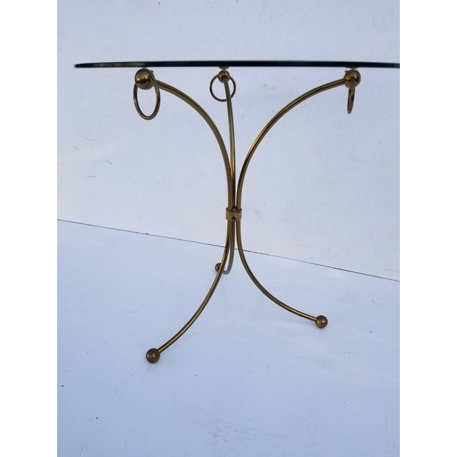 1960s Neoclassical Maison Jansen Style Gueridon Table For Sale - Image 5 of 9