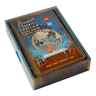 1960s New York World's Fair Playing Cards