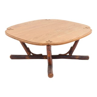 American Rustic Old Hickory '20th Century' Coffee Table For Sale
