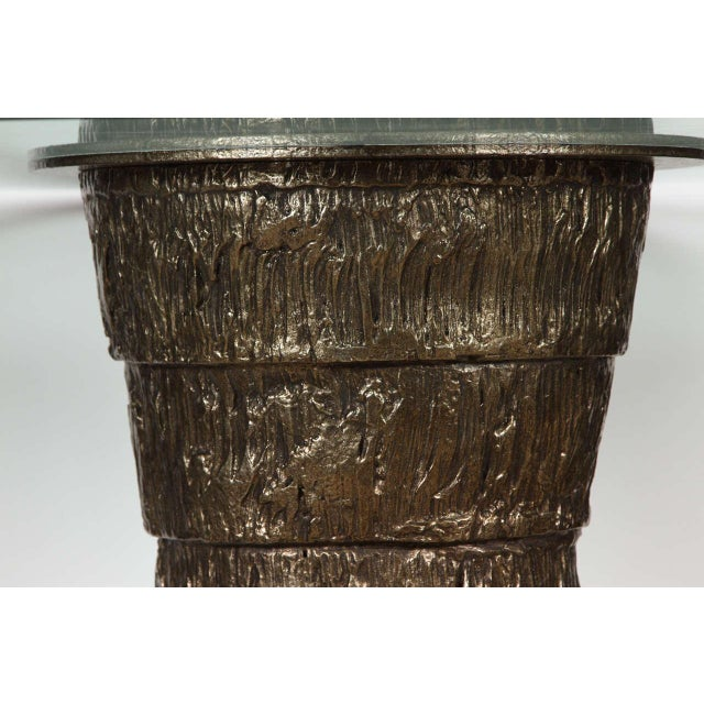 Not Yet Made - Made To Order Sculptural Brutalist Pedestal Style Table For Sale - Image 5 of 9