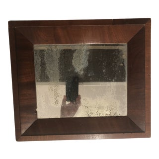 Antique Traditional Wood Wall Mirror For Sale
