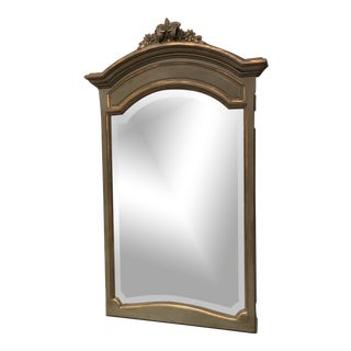 19th Century Distressed Louis XV Mirror For Sale
