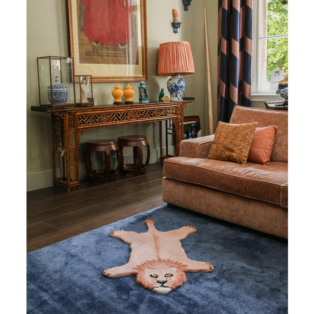 Doing Goods Pinky Lion Rug Small For Sale - Image 4 of 6