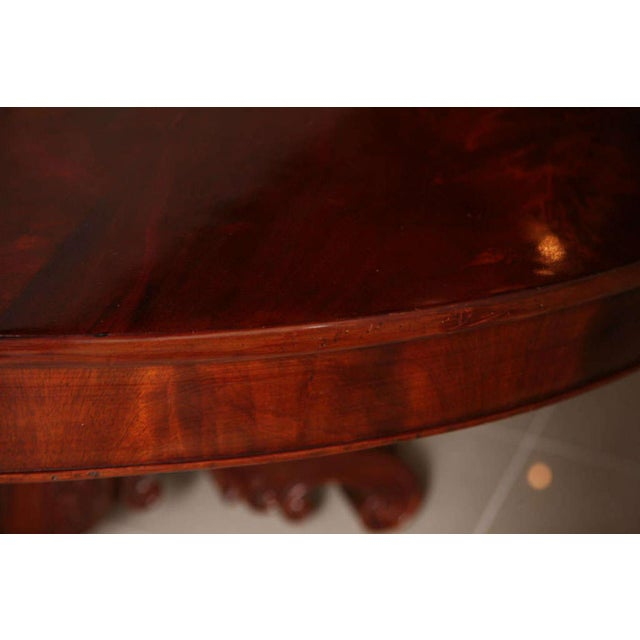 Traditional William IV Mahogany Center/Dining Table For Sale - Image 3 of 8