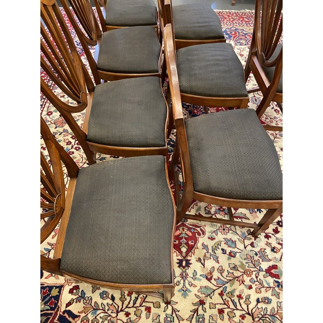 Early 20th Century Irving & Casson Dining Chairs - Set of 8 For Sale - Image 11 of 13