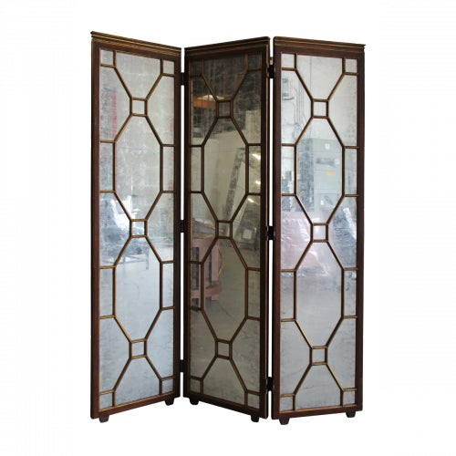 Hickory White Paxton Mirrored Screen - Image 1 of 3