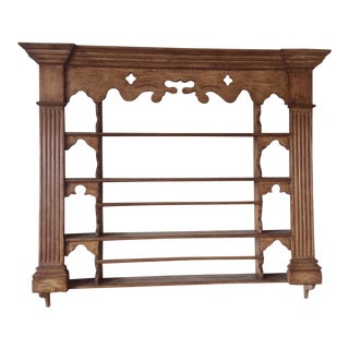 Collection Reproductions Wooden Plate Rack For Sale