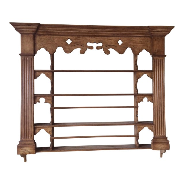 Collection Reproductions Wooden Plate Rack