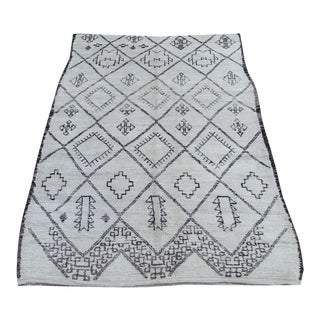 "Vintage Moroccan Berber Rug - 5'10"" x 10'"