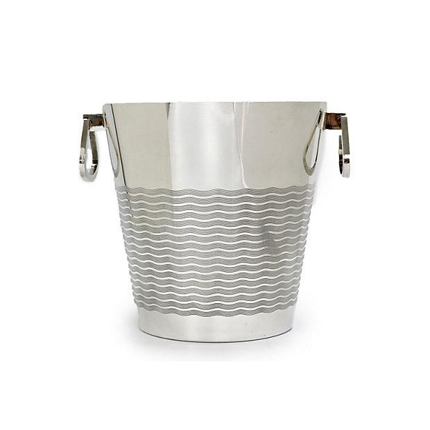 1940s 1940s French Art Deco St. Medard Champagne Bucket For Sale - Image 5 of 5