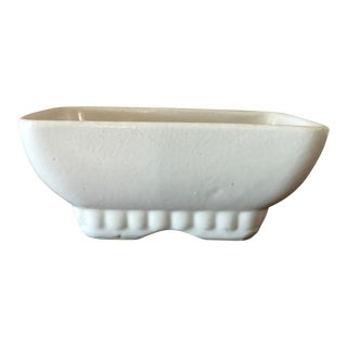 Vintage White Pottery For Sale