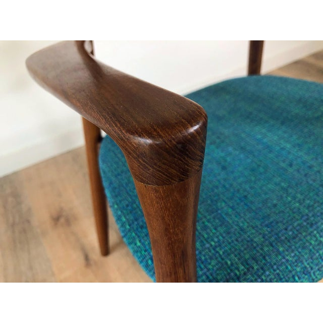 1960s Harry Østergaard for Randers Møbelfabrik Dining Chairs - Set of 8 For Sale - Image 12 of 13