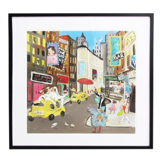 Tug Rice Cities Collection: New York Drawing For Sale