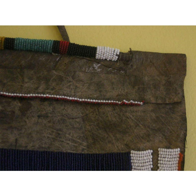 Antique African Wedding Apron From the Ndebele Tribe For Sale In Philadelphia - Image 6 of 9