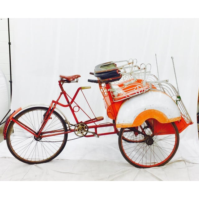 Vintage Indian Rickshaw Cart - Image 2 of 11