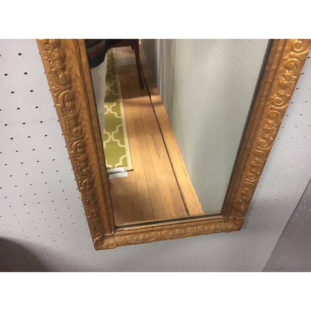 Antique Wall Trumeau Mirror For Sale In Austin - Image 6 of 13