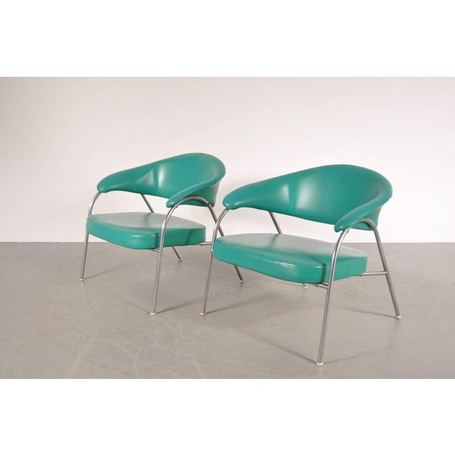 Pair of Rare Easy Chairs Produced by Arflex, Italy, circa 1960 - Image 2 of 7