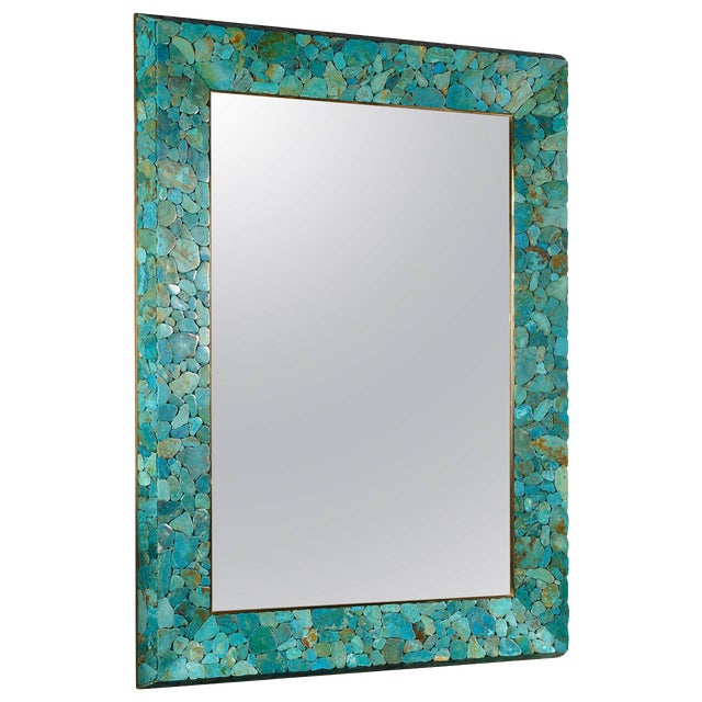 Rectangular Mirror by Kam Tin For Sale