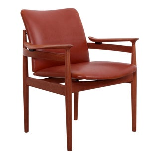 Arm or Desk Chair 192 by Finn Juhl for France & Son, Denmark, 1963