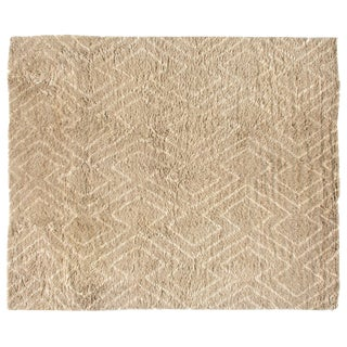 Stark Studio Rugs Contemporary Wella Camel 100% Wool Rug - 12′4″ × 14′10″ For Sale
