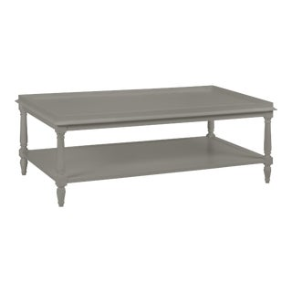 Casa Cosima Revere Cocktail Table, Chelsea Gray For Sale