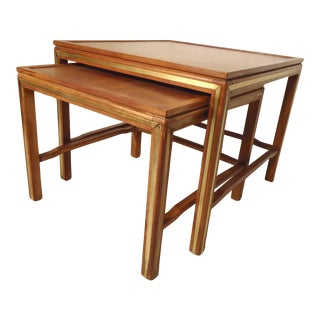 Rare Nesting Tables by Widdicomb For Sale