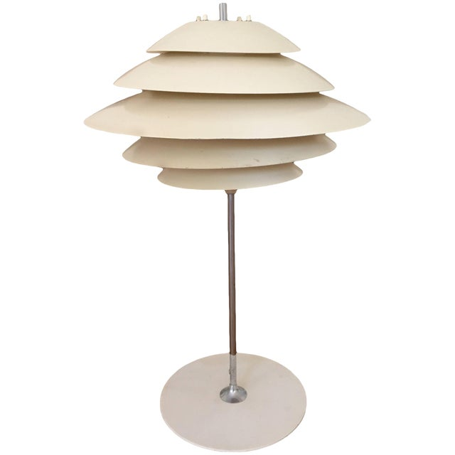 Poul Henningsen Style Table Lamp by Sonneman For Sale