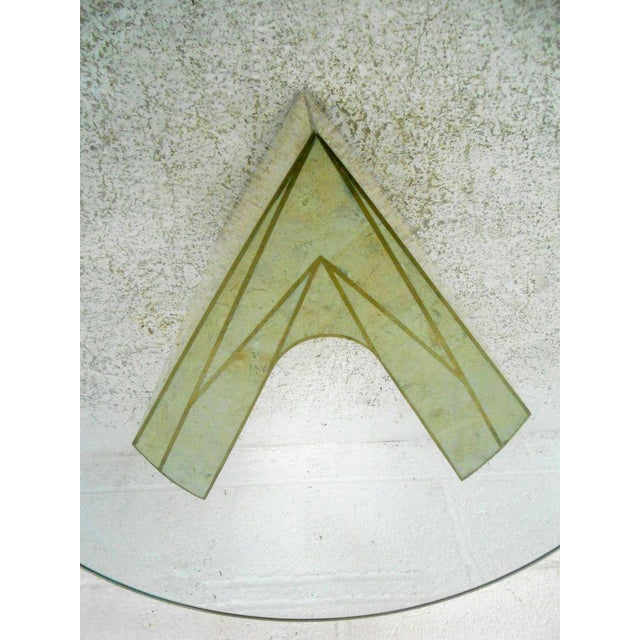 Vintage Marcius for Casa Bique Tessellated Stone End Table - Image 6 of 6