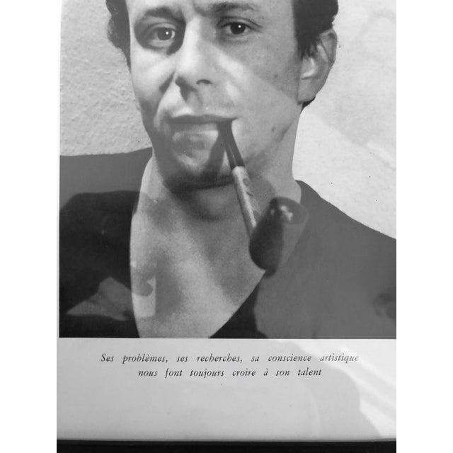 Modern Henri Lachieze-Rey France C.1960's Printed Photo 10x13 For Sale - Image 3 of 4