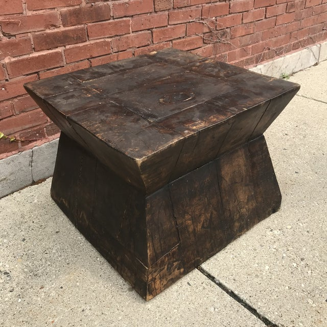 Industrial Chic Antique Table For Sale - Image 9 of 9