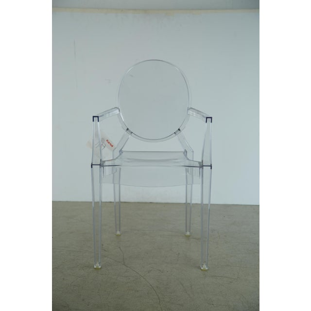 Louis XVI Ghost Chairs by Philippe Starck for Kartell, Unused With Original Tags, 12 Available For Sale In Los Angeles - Image 6 of 10