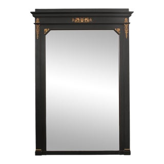 French 19th Century Second Empire Ebonized Mirror For Sale