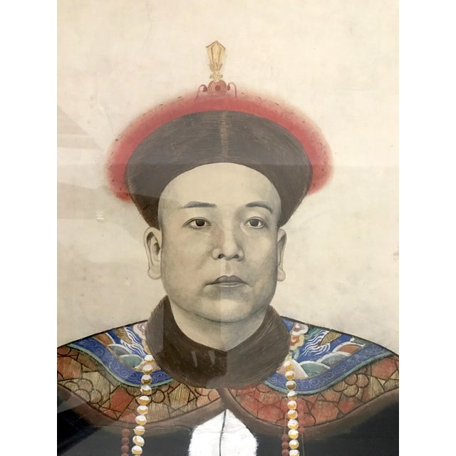 Chinese Ancestor Painting of a High Ranking Gentleman For Sale - Image 4 of 10