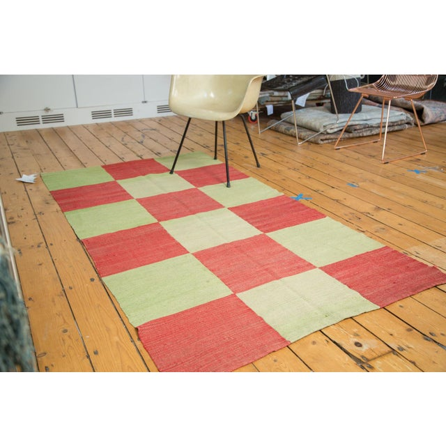"""Contemporary Patchwork Rug - 3'11"""" x 7'3"""" - Image 2 of 7"""