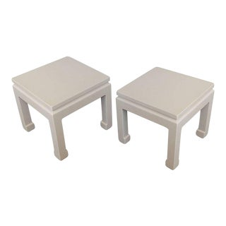 Chinese Modern End Tables For Sale