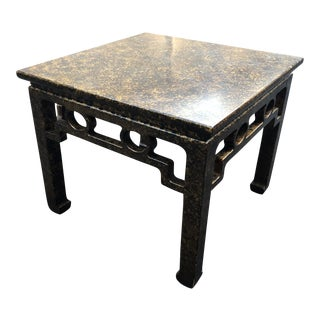 Henredon Furniture Ming Chinoiserie Side Table For Sale