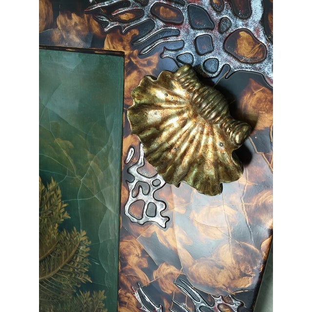 Trompe L'oiel Painting of Underwater Scene For Sale In San Francisco - Image 6 of 11