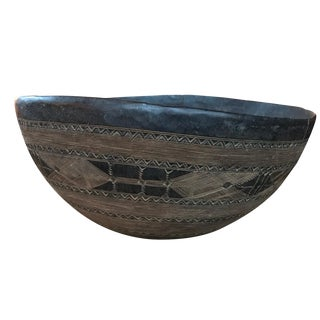 Large Early 20th Century Tuareg Bowl For Sale