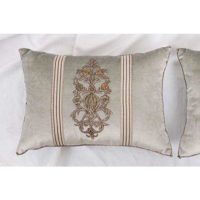 B. Viz Design Antique Textile Pillows For Sale In Baton Rouge - Image 6 of 7