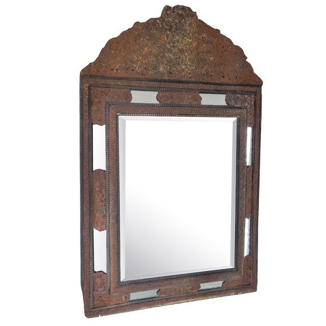 18th Century Dutch Baroque Mirror For Sale - Image 10 of 10